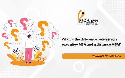 What is the difference between an Executive MBA and a Distance MBA?